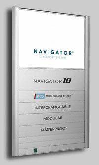 Navigator Modular Wayfinding Directory Signage Digitex