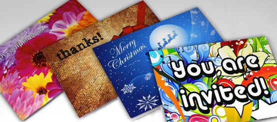 Custom printed greeting cards for special events thank you cards perfect for any event m4hsunfo