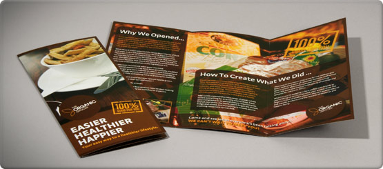 Brochures provide invaluable information to your customers