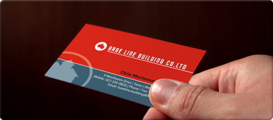 With Digital printing its cost effective to get short-runs of personalised cards