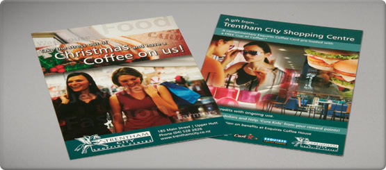 Full colour double-sided flyers printed to size