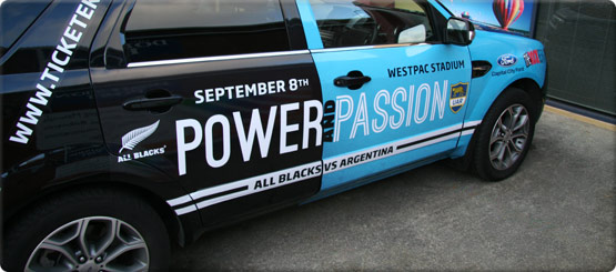 Vehicle Graphics And Vehicle Signage Design Print And Install